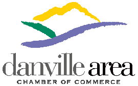 Danville Area Chamber Commerce logo and link