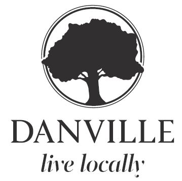 Danville Town Live Locally logo and link