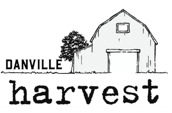 Danville Harvest Farm to Table Cuisine logo and link